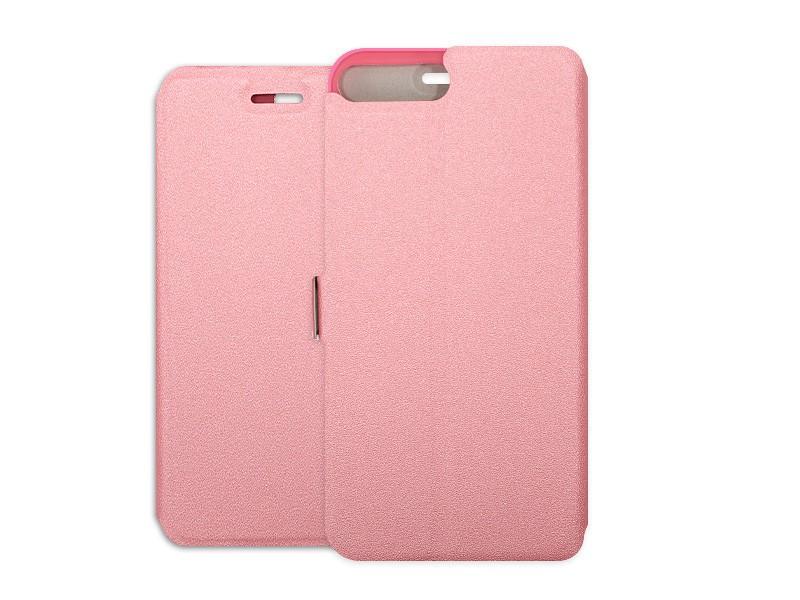 Apple iPhone 7 Plus – etui na telefon Wallet Book – różowy