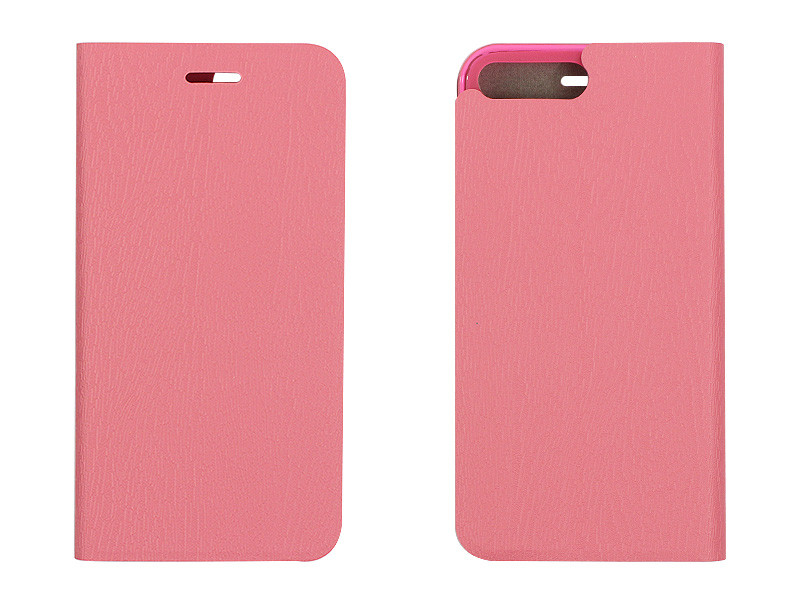 Apple iPhone 8 Plus – etui na telefon Flex Book – różowy