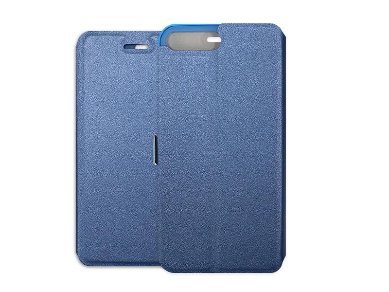 Apple iPhone 8 Plus – etui na telefon Wallet Book – granatowy