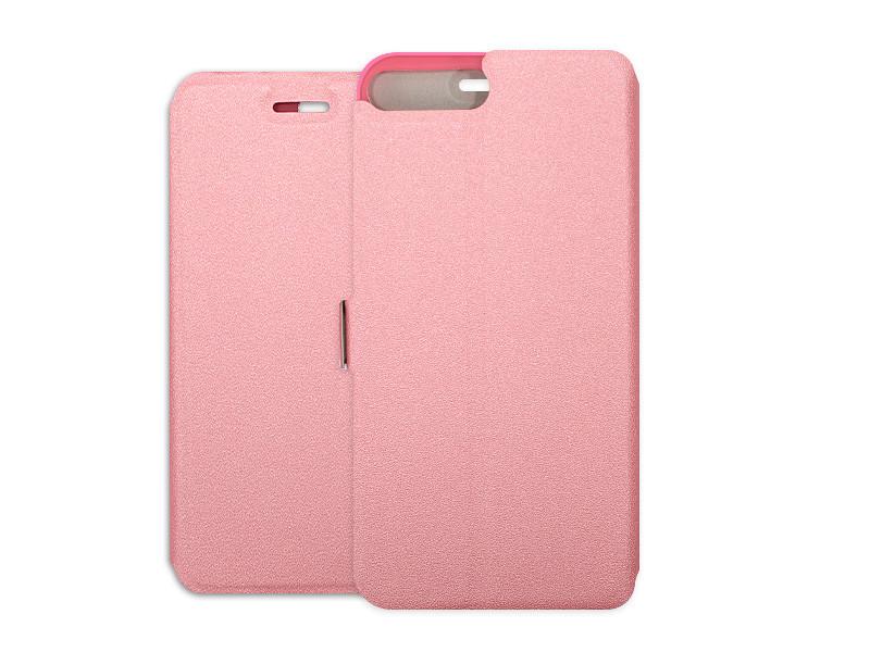 Apple iPhone 8 Plus – etui na telefon Wallet Book – różowy