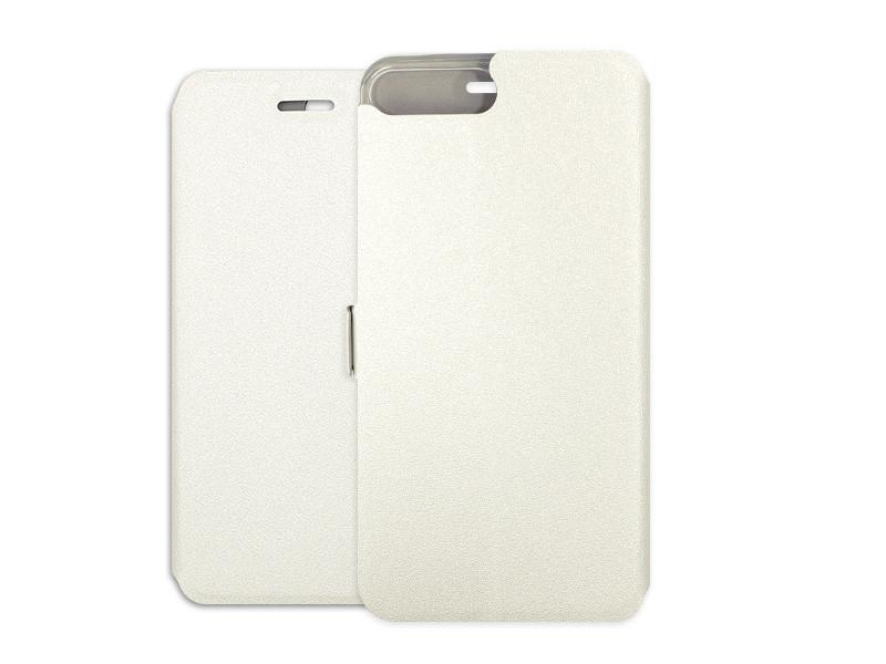 Apple iPhone 8 Plus – etui na telefon Wallet Book – biaÅ'y