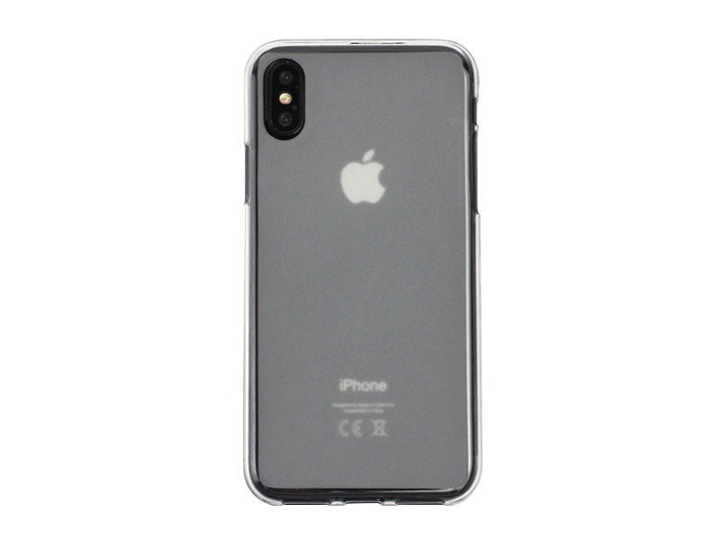 Apple iPhone X – etui na telefon FLEXmat Case – biaÅ'y