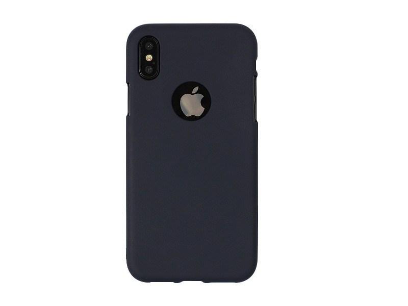 Apple iPhone X – Mercury Goospery Soft Feeling – granatowy
