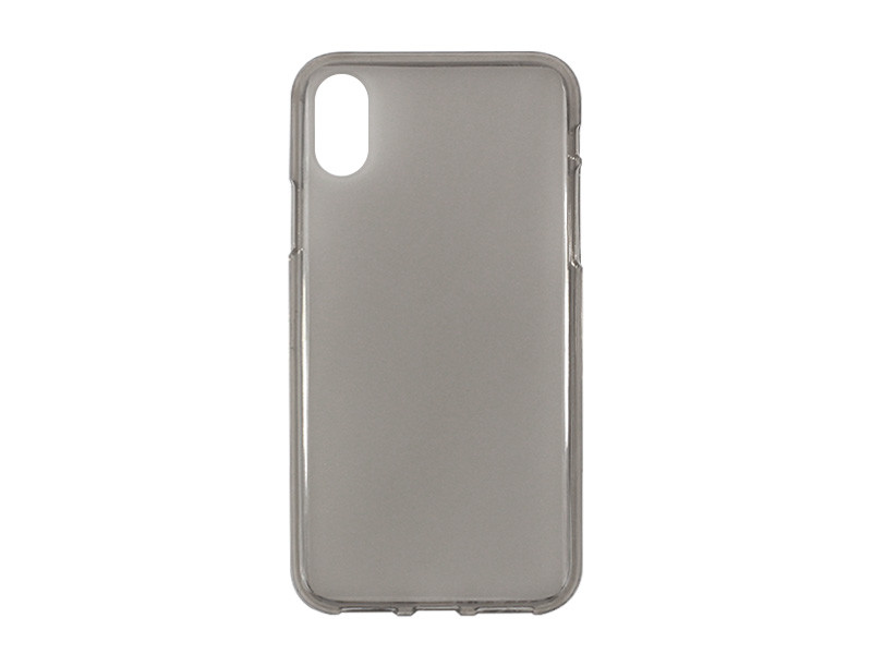 Apple iPhone XS – etui na telefon FLEXmat Case – czarny