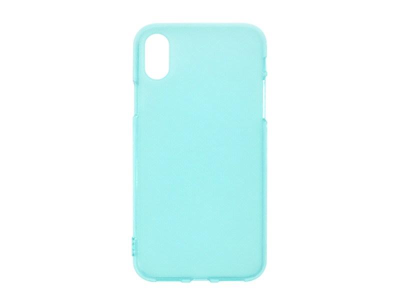 Apple iPhone XS – etui na telefon FLEXmat Case – niebieski