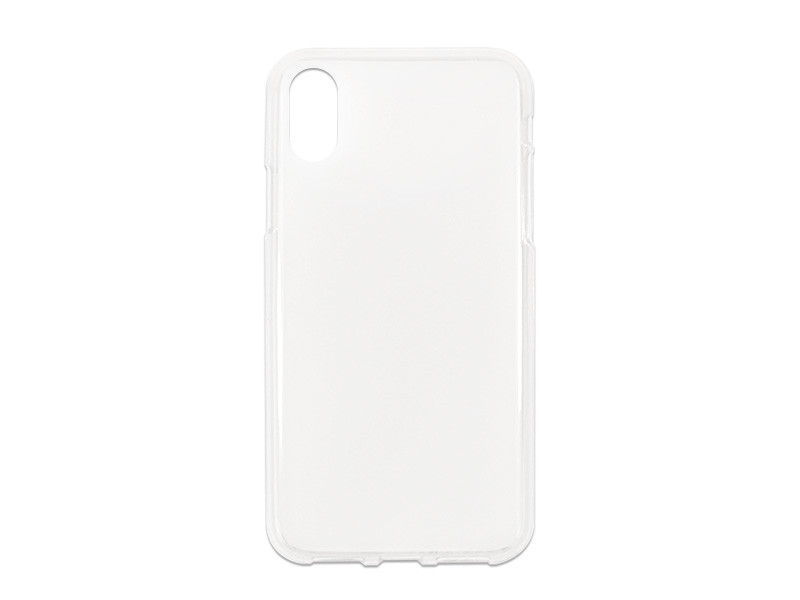 Apple iPhone XS – etui na telefon FLEXmat Case – biały