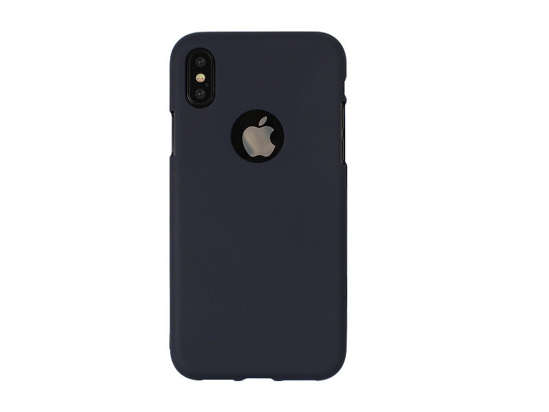 Apple iPhone XS – Mercury Goospery Soft Feeling – granatowy