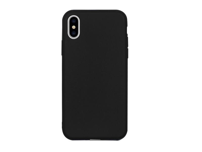 Apple iPhone XS – etui na telefon Soft Flex – czarny