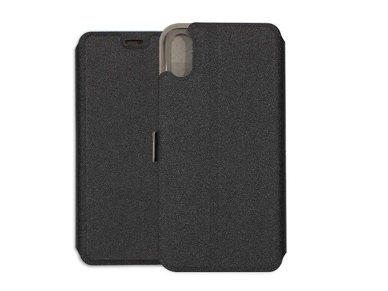Apple iPhone XS – etui na telefon Wallet Book – czarny