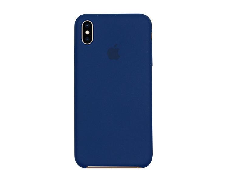 Apple iPhone XS Max – etui na telefon Apple Silicone Case – Blue Horizon