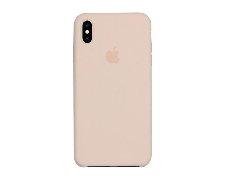 Apple iPhone XS Max – etui na telefon Apple Silicone Case – Pink Sand