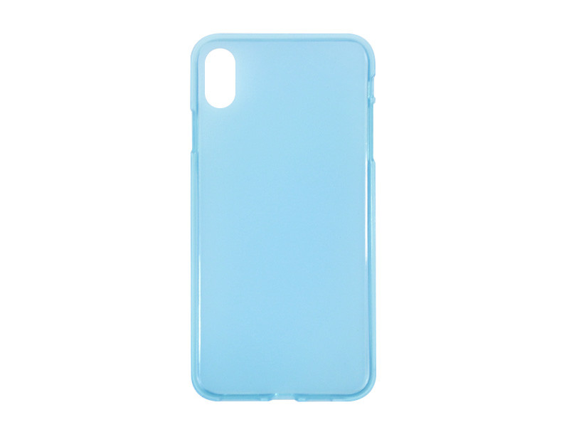 Apple iPhone XS Max – etui na telefon FLEXmat Case – niebieski