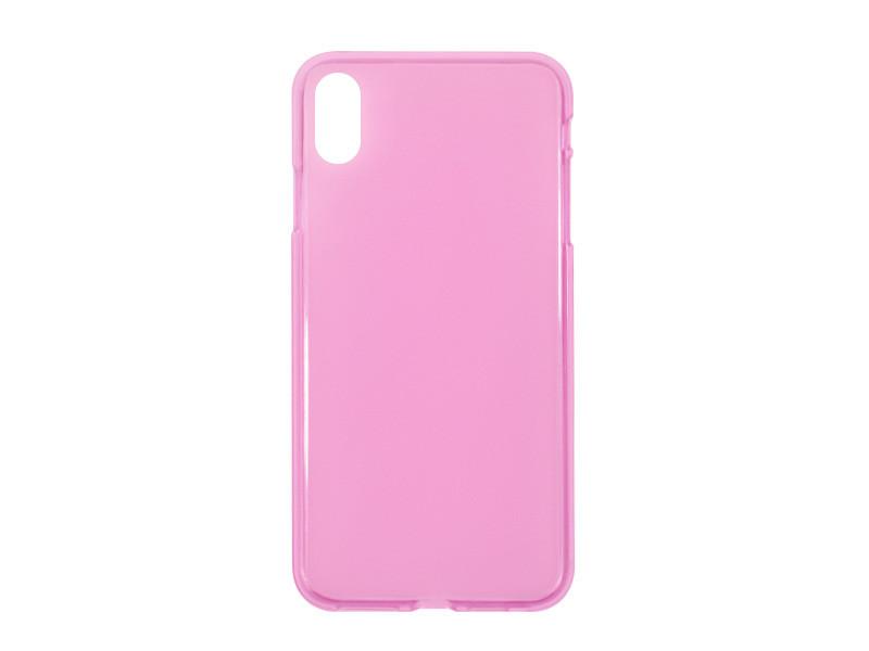 Apple iPhone XS Max – etui na telefon FLEXmat Case – różowy
