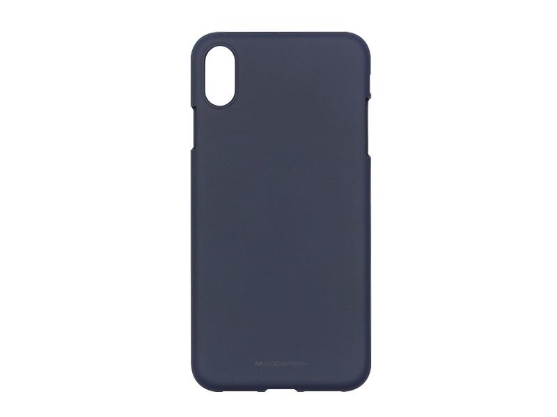 Apple iPhone XS Max – Mercury Goospery Soft Feeling – granatowy