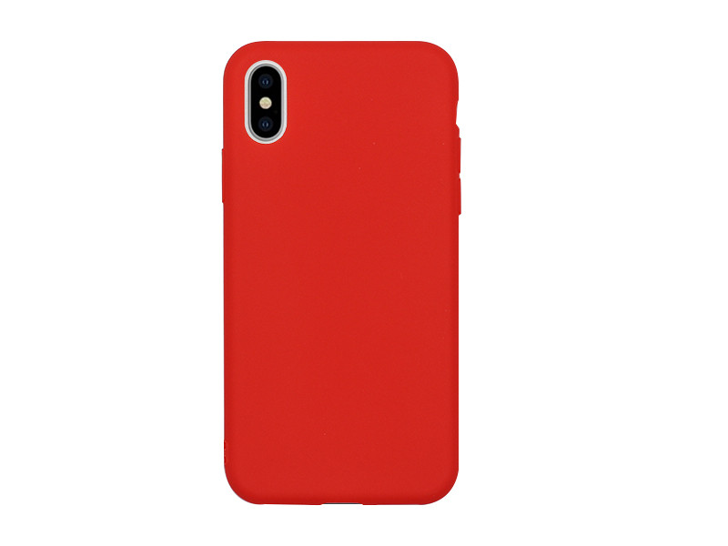 Apple iPhone XS Max – etui na telefon Soft Flex – czerwony
