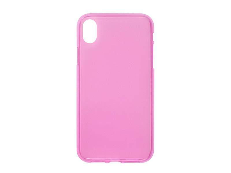 Apple iPhone XR – etui na telefon FLEXmat Case – różowy