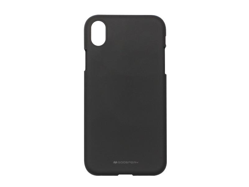 Apple iPhone XR – Mercury Goospery Soft Feeling – czarny