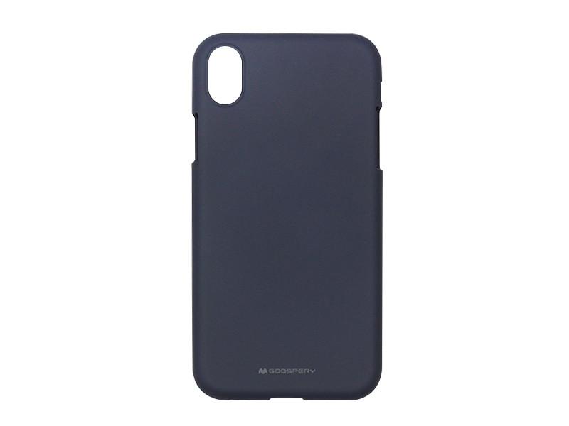 Apple iPhone XR – Mercury Goospery Soft Feeling – granatowy