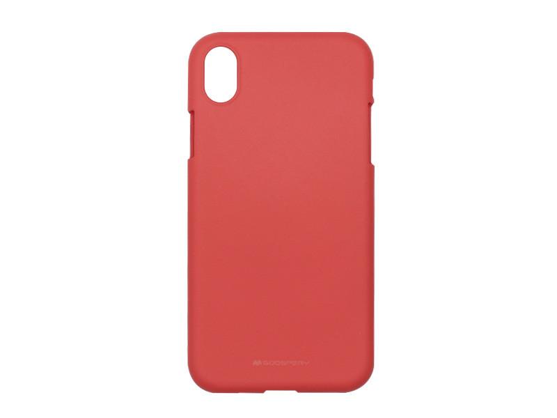Apple iPhone XR – Mercury Goospery Soft Feeling – czerwony