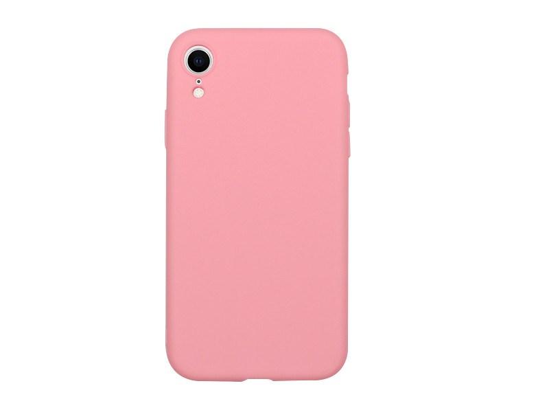 Apple iPhone XR – etui na telefon Soft Flex – różowy